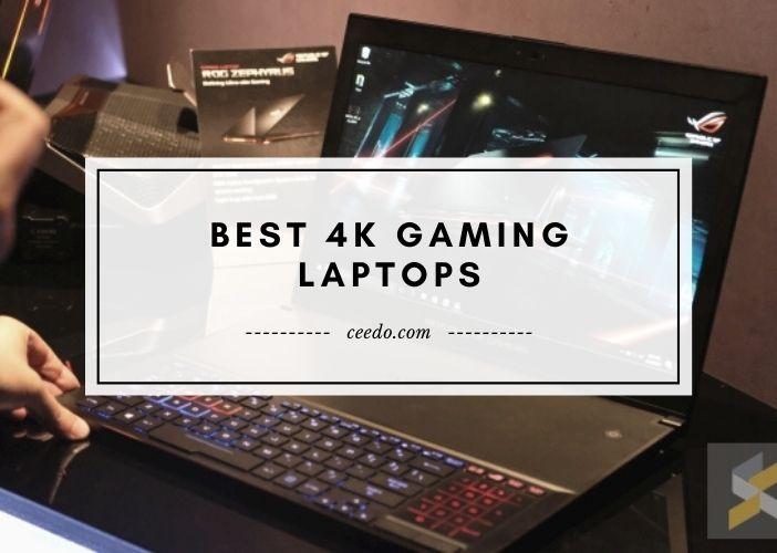 Best 4K Gaming Laptops